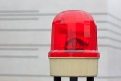 Alerter. A red Alerter with Light for Warning Instruction royalty free stock image