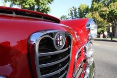 RED Alfa Romeo Royalty Free Stock Photography