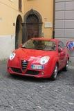 Red Alfa Romeo Giulietta Stock Photos