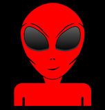 Red alien Stock Photos