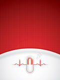 Red alternative medication concept Royalty Free Stock Images