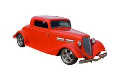 Red American hotrod Royalty Free Stock Image