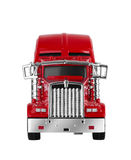 Red american truck Royalty Free Stock Photos