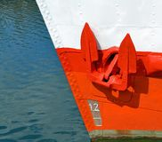 A red anchor Stock Photos