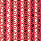 Red ancient seamless pattern Royalty Free Stock Images