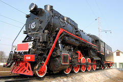 Free Red And Black Locomotive Stock Photos - 5227273