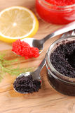 Red And Black Lumpfish Roe
