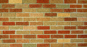 Red And Brown Brick Wall Stock Photography