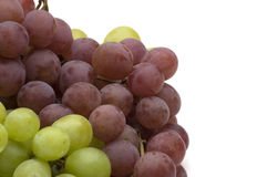 Red And Green Grapes Stock Photos