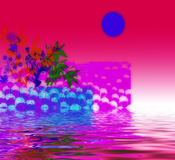 Red And Pink Abstract Design Royalty Free Stock Photo