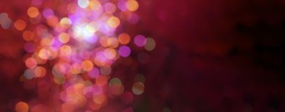 Free Red And Pink Soft Defocused Holidays Lights Background Stock Image - 162832221