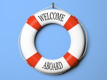Red And White Life Buoy Stock Images