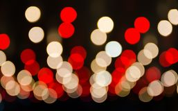 Free Red And Yellow Bokeh Light Patterns For Background. Stock Photography - 119336992