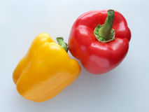 Free Red And Yellow Pepper Royalty Free Stock Photo - 12305235