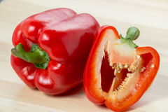 Free Red And Yellow Sweet Bell Peppers Royalty Free Stock Image - 52673126