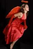 Red angel? Royalty Free Stock Photos