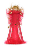 Red angel christmas decoration Stock Photo