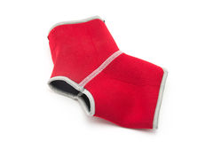 Red ankle support Stock Photos