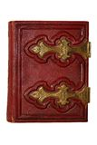 Red antique book Royalty Free Stock Photos
