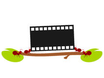 Red ants movie work illustration Stock Photo