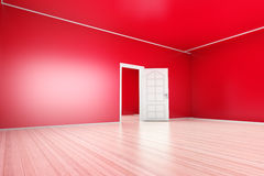 Red Apartment Royalty Free Stock Image