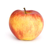 Red apple. Fresh apple on isolated background Stock Image