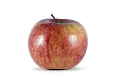 Red apple. Isolated on white background Royalty Free Stock Photos