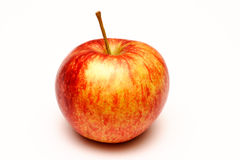 Red apple. On a white background Stock Images