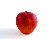 Red apple. Just a red apple on white background Royalty Free Stock Image