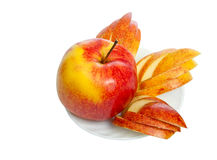 Red apple. Royalty Free Stock Photos