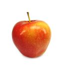 The red apple. Stock Images