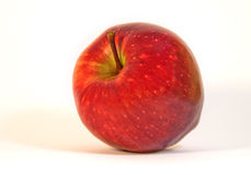 Red apple. Ready to be eaten royalty free stock photos