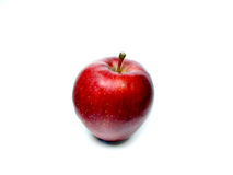 Red apple. A red delicious apple Royalty Free Stock Photography