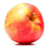 Red apple. On the white background. Isolated Stock Image
