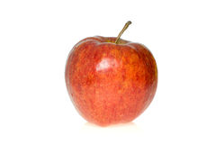 Red apple. Isolated on the white background Royalty Free Stock Photo
