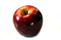 Red Apple. Isolated stock photos