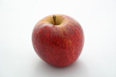 Red apple. Isolated red apple royalty free stock photography