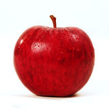 Red Apple. Red Fresh and wet Apple Royalty Free Stock Images