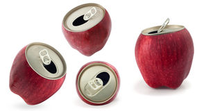 Red apple. S isolated against a white background Royalty Free Stock Image