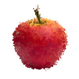 Red apple  of blots  Royalty Free Stock Images