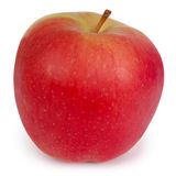 Red Apple (Clipping path) Royalty Free Stock Image