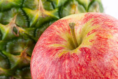 Red apple close up Royalty Free Stock Image