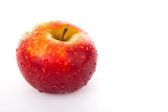 Red apple closeup Stock Image