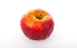 Red apple closeup Royalty Free Stock Images