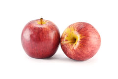 Red apple concept for healthy diet and weight control. Royalty Free Stock Photos