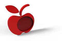 Red apple design Stock Photos