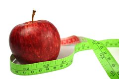 Red Apple Diet Royalty Free Stock Photography