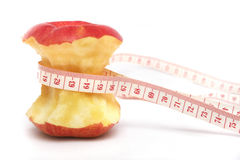 Red Apple Diet royalty free stock photo