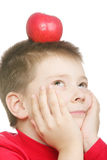 Red apple dreams Royalty Free Stock Image