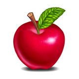 Red apple fresh delicious Royalty Free Stock Photo